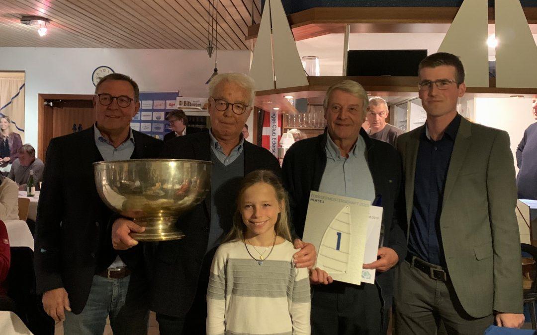 Karl-Heinz Koch gewinnt die Ederseemeisterschaft 2019